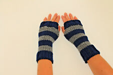Harry Potter Inspired Fingerless Gloves/Wrist Warmers- Ravenclaw  Colors
