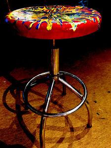 Bohemian Bar Stool