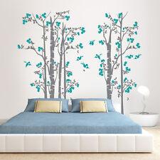 01372 Wall Stickers Adesivi Murali parete decoro muro piante Alberi 190x170 cm