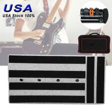 Portable Electric Guitar Effects Pedal Board with Carry Bag Pedalboard Case USA