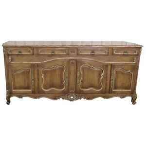 Sophisticated Auffray Style Louis XV Country French Sideboard Fitted Interior
