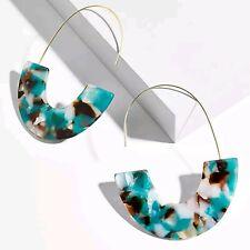 Fashion Statement Charm Women Ear Drop Acrylic Resin Dangle Earrings Jewelry HOT