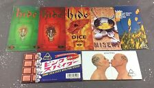 Hide 3 inch 7 CD single Lot Dice Eyes Love You Misery Pink Spider X Japan