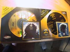 (2) 24K Gold CD & SACD Bob Dylan's Greatest Hits Vol. 1/2 Sealed Audio Fidelity