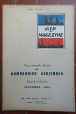 AIR MAGAZINE SALON AVIATION 1930 COMPAGNIE AERIENNE AIR SERVICE CIDNA FARMAN