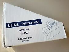 Uline H 150 2 Inch Hand Held Industrial Side Loading Tape Dispenser Gun Open Box