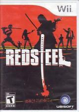 2 WII NINTENDO Wii Games:  RED STEEL 1 & 2 - REDSTEEL - Complete - Yakuza