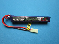 TURNIGY NANO-TECH 1200mAh 3S 25C 50C LIPO BATTERY AIRSOFT MINI TAMIYA MOLEX 11.1
