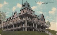 Postcard Butler County General Hospital Butler PA