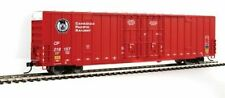 Walthers 910-2927 60' High Cube Plate F Boxcar Canadian Pacific CP #218157 Red