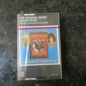 BRONCO BILLY SOUNDTRACK CASSETTE - 1980 - CLINT EASTWOOD - MERLE HAGGARD K452231