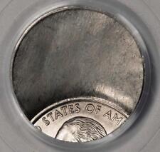 PCGS M 64 70% Off Center On Clad Layer Uniface Reverse State Quarter Mint Error