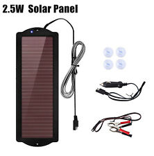 Solar Panel 25watt 25w 12v Trickle Charge Battery Charger Battery Maintainer