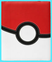 ULTRA PRO 9 POCKET POKEMON POKE BALL PREMIUM PRO LEATHERETTE BINDER 360 Card