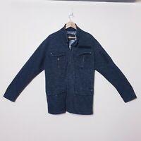 Billabong Mens XL Grey Zip Up Windbreaker Jacket