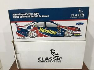 #1:18 RUSSELL INGALL'S YEAR 2004 STONE BROTHERS RACING BA FALCON