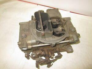 Used Holley 600cfm 1850 Vac. Secondary Carburetor Chevy Pontiac Ford Hot Rod