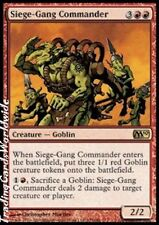 Siege-Gang Commander // FOIL // NM // Magic 2010 // Engl. // Magic Gathering