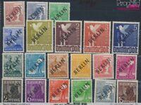 Berlin (West) 1-20 geprüft Jahrgang postfrisch 1948 Schwarzaufdruck (8641538