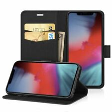 Real Genuine Leather Flip Cover Wallet for iPhone 11 Pro Max X XR 6 7 8 Plus 5