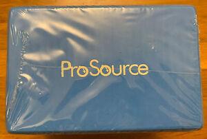 "Prosource Fit Foam Yoga Blocks Set of 2 High Density Large Size 9""x6""x4"""