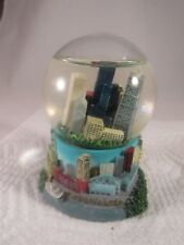 "Chicago City Skyline Snow Water Globe 4"" Tall"