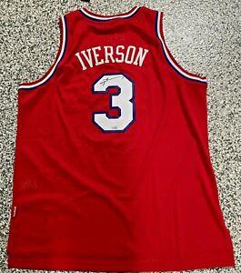 Philadelphia 76ers Allen Iverson Autographed Adidas Jersey Fanatics Hologram