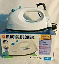 """Black & Decker """"Glide N Go"""" Iron with Teflon & Auto Shut Off - New in Box"""
