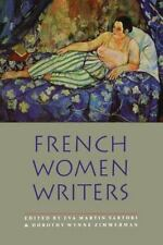 1994-01-01, French Women Writers (Bison Book), , Very Good, -- Authors, Women, G