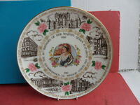 Coalport, 80th Birthday of The Queen Mother, Collectors Plate (Boxed)