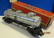 Lionel 6415 Three Dome Sunoco Tank Car ca. 1954 w/Original Box