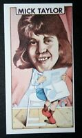 Mick Taylor   Rolling Stones Guitarist   Original 1970's Vintage Card  # EXC