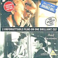 2 FILMS = BRIEF ENCOUNTER / THE IPCRESS FILE = VGC PROMO CERT PG