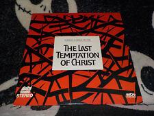 The Last Temptation of Christ Laserdisc LD Martin Scorsese Free Ship $30 Orders