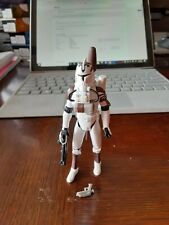 Hasbro Star Wars The Clone Wars CW02 CLONE TROOPER WITH SPACE GEAR Loose!!!!!!!