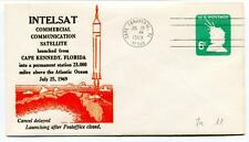1969 Intelsat Commercial Communication Satellite Cape Kennedy Florida Canaveral