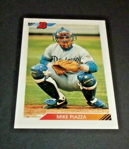1992 Bowman #461 Mike Piazza Los Angeles Dodgers RC Rookie Very High Grade