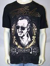 Xzavier Black Legend Short Sleeve Crewneck T-Shirt Mens Size XL 40 42