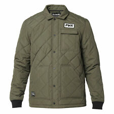 FOX RACING SPEEDWAY JACKET casual motocross mx medium weight insulated OLIVE GRN