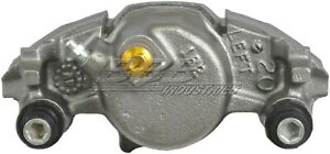 Disc Brake Caliper-Caliper with installation Hardware Front Left 97-17251A Reman