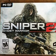 Sniper Ghost Warrior 2 (PC) NO CASE NO ART EXCELLENT CONDITION NO CODE