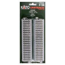 "Kato 2130 174mm 6-7/8"" Straight (4) : HO Scale"