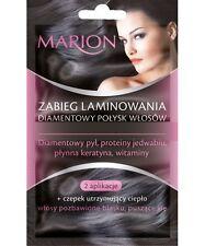 Marion Hair lamination treatment Diamond hair shine Diamentowy połysk włosów