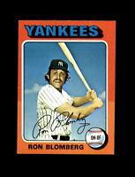 1975 Topps Baseball #68 Ron Blomberg (Yankees) NM-MT