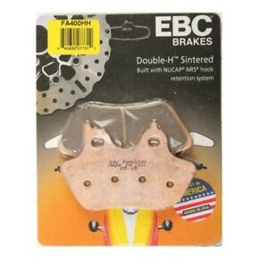 EBC FA400HH Double-H Sintered Motorcycle Brake Pads Front/Rear - Harley Davidson