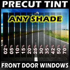 PreCut Film Front Door Windows Any Tint Shade VLT for BUICK Glass