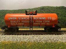 O Scale - MTH RailKing 30-7348 Union Starch Modern Tank Car UTLX 59137 O1952