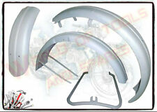 TRIUMPH 3HW BRAND NEW FRONT AND REAR MUDGUARD SET READY TO PAINT (LOWEST PRICE)