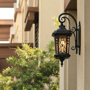 Outdoor Wall Light Garden Wall Sconce Hotel Large Wall Lamps Home Wall Lighting