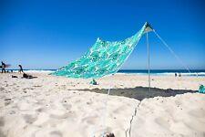 OZoola Palmy Beach Tent With Sandbags UPF 50+ Sun Protection